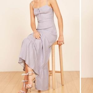 Reformation Prairie Maxi dress in Jane color